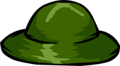 Green Safari Hat clothing icon ID 1062