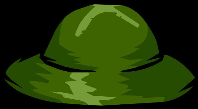 File:Green Safari Hat clothing icon ID 1062.png