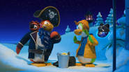 Rockhopper and Yarr with Roofhowse
