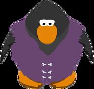 Purple Fur Vest IG
