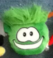 Greenpuffleplush