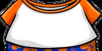 Orange Hawaiian Outfit