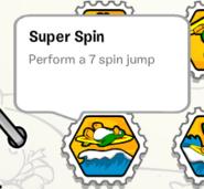 Super spin stamp book