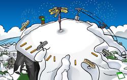 New Year's 2010 Ski Hill