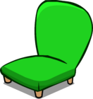 Green Plush Chair sprite 002