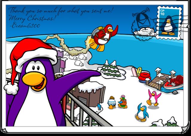 File:Merry Christmas postcard.png