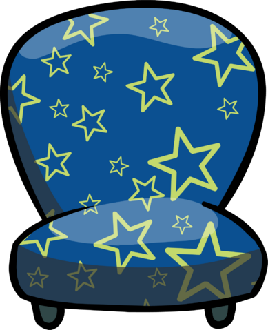 File:Custom Furniture (Blue Chair with Stars).PNG
