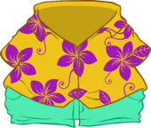 Floral Shirt icon
