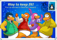 GeoPalz reward postcard