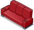Red Designer Couch sprite 005