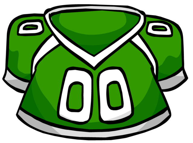File:Green Football Jersey clothing icon ID 4115.png