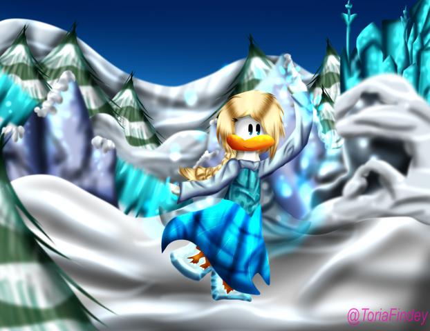 File:Elsa As A Penguin.png