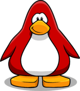 New Player Card Penguin Idea 2011 Red