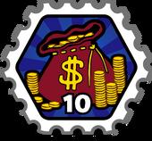 10CoinBagsStamp