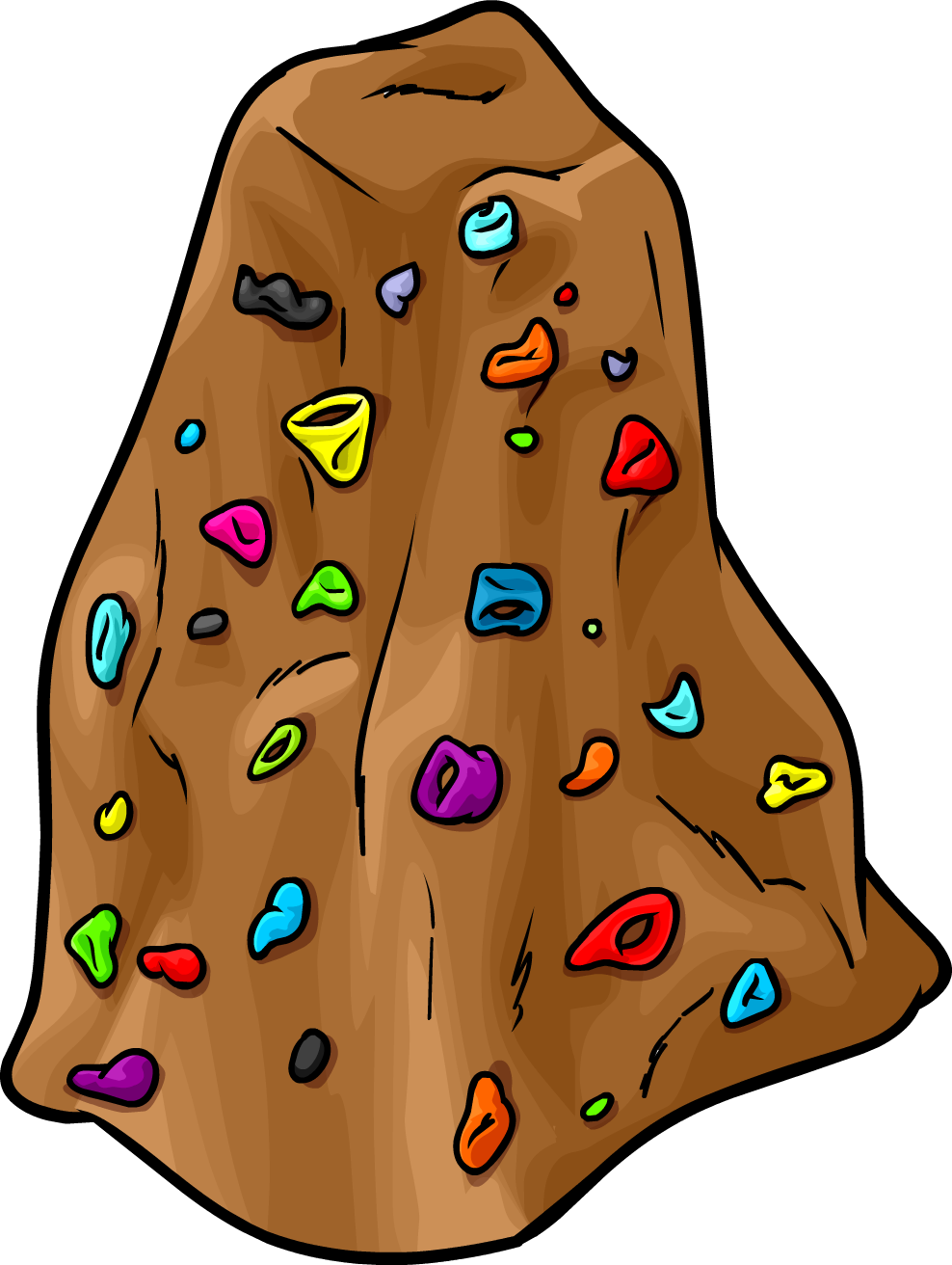 Image result for rock climbing  clipart