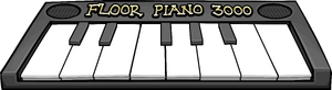 Pianoonthefloor