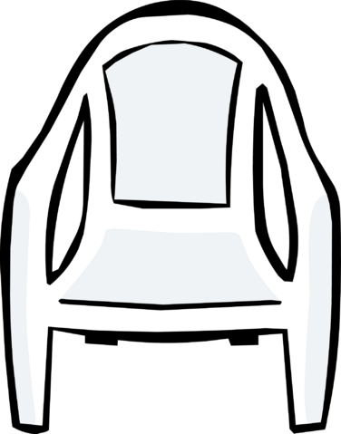 File:White Plastic Chair.PNG