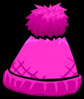 PinkPomPomToque