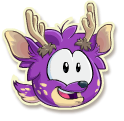 Purple deer selected
