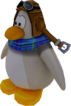 Sled Racer Penguin Model Arctic White