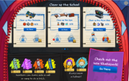 School & Skate Party Interface Page 2