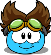 The Rad Scientist (Puffle Hat) in Puffle Interface