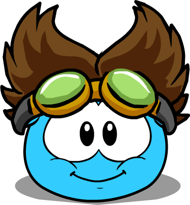 File:The Rad Scientist (Puffle Hat) in Puffle Interface.png
