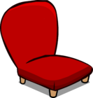 Red Plush Chair sprite 008