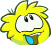 File:YellowPuffle2013RedesignWhite.png