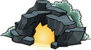 Puffle Cave In-Game