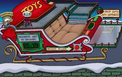 Holiday Party 2015 Santa's Sled