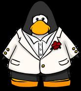 White Tuxedo on Player Card