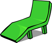 Green Deck Chair sprite 001