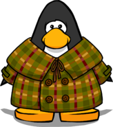 Tweed Coat on a Player Card