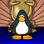 Penguin Awards background on a Player Card