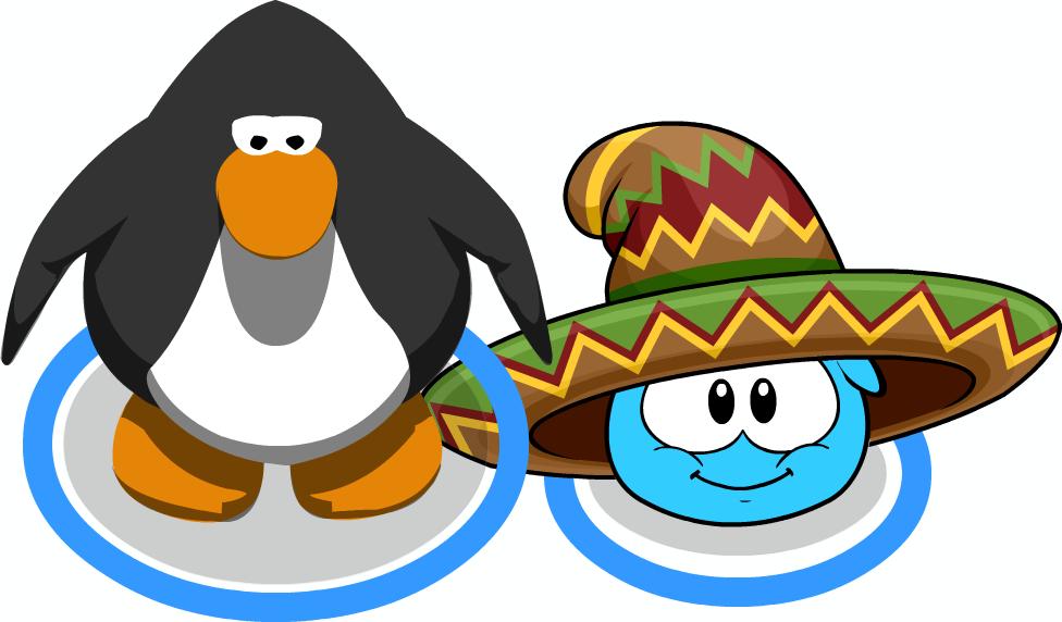 Sombrero Puffle Sprite