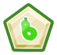 Green O'berry Pin icon