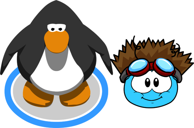 File:Puffle Hats shockofhair in game.png