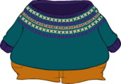 Knitted Wool Sweater icon