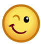 CPNext Emoticon - Winking Face