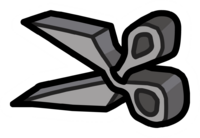 Stone Scissors Pin