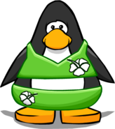Green Flower Bikini from a Player Card