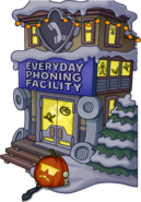 Halloween Party 2015 EPF exterior