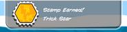 Trick star earned