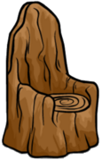 Tree Stump Chair