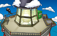 Puffle Party 2011 construction Beacon