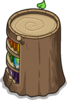 Stump Bookcase sprite 039