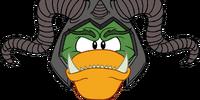 Horned Ogre Head