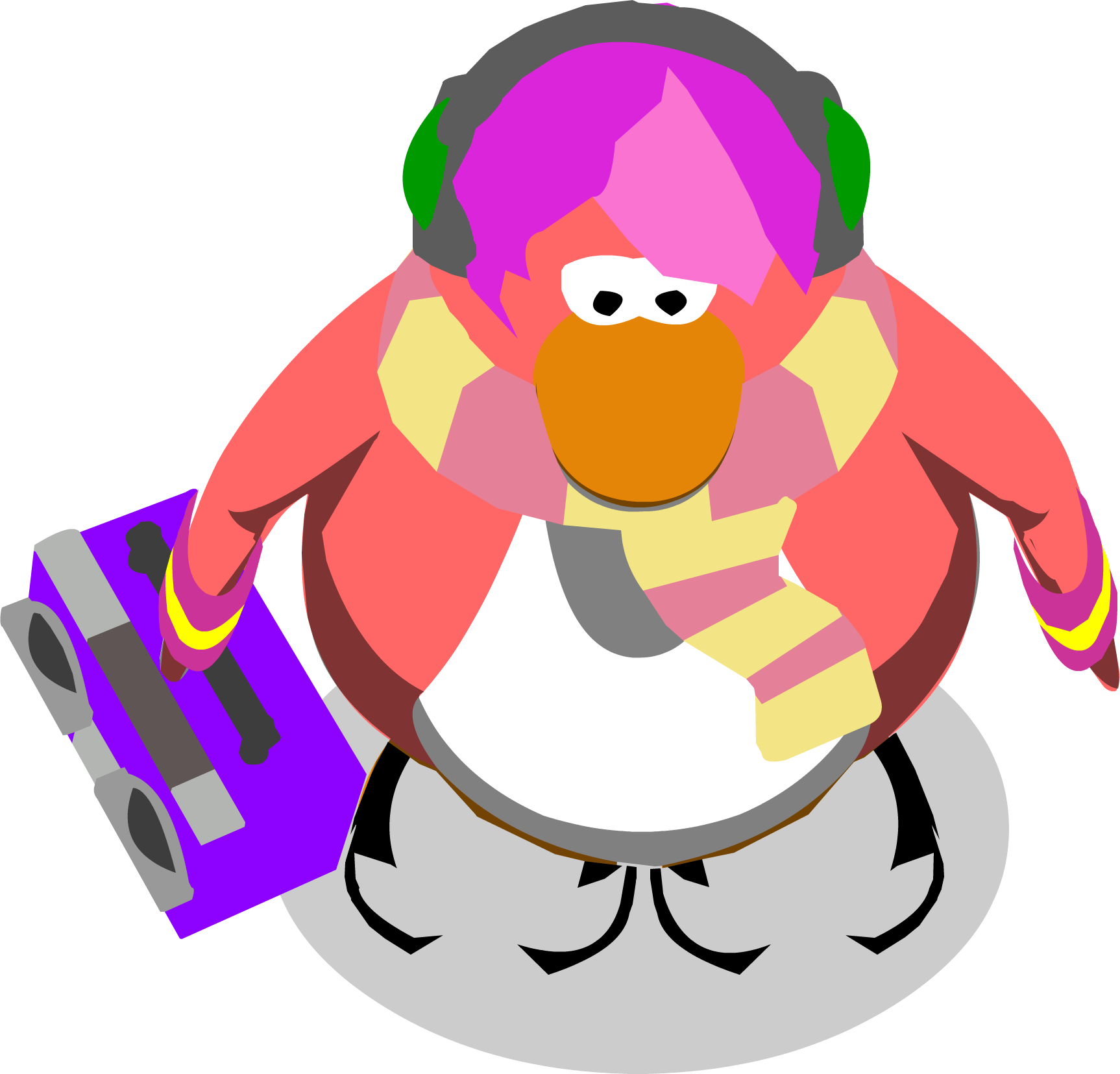 File:Cadence With Boombox2 In-game.png