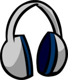 Headphones clothing icon ID 481